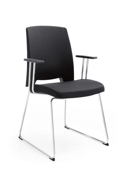 Посетителски стол ARCA 21 V chrome PP