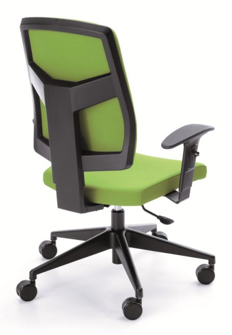 Работен стол RAYA 23Е black P45PP