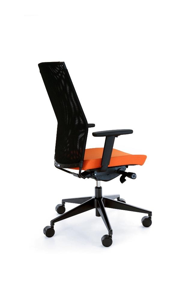 Работен стол  PERFO III 213S black P54PU