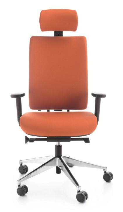 Директорски стол VERIS 111 SFL  chrome P54PU
