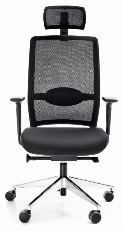 Директорски стол VERIS NET 111 SFL chrome P48PU