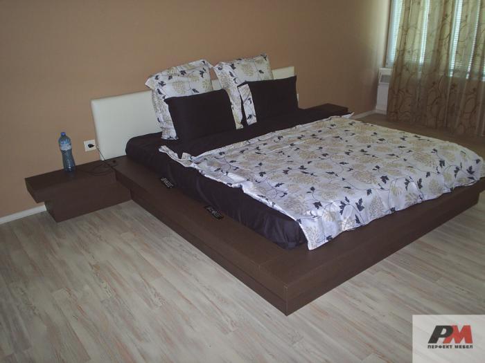 Легло с тапицерия от Еко кожа