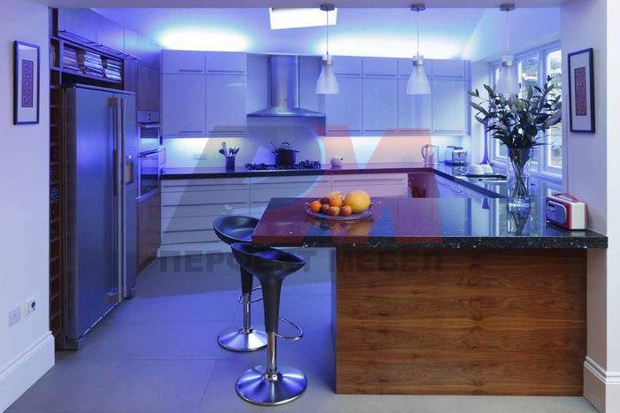 Кухни с модерен дизайн с вградени уреди