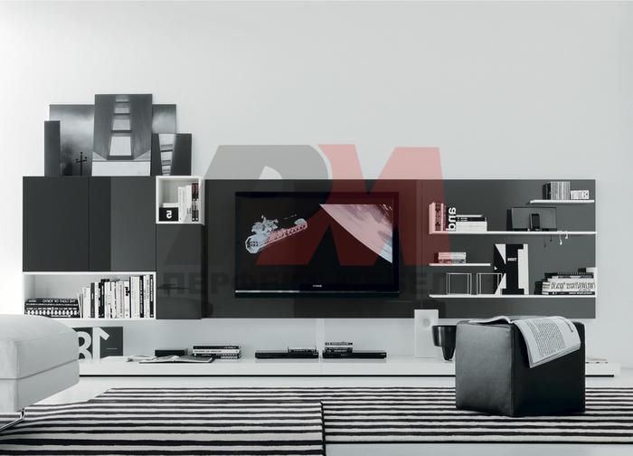 модерни поръчкови мебели за хол