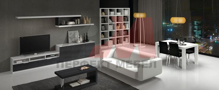 поръчкови мебели за хол