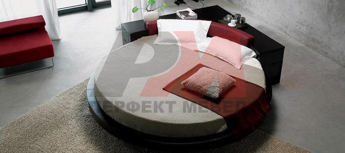 Кръгла спалня с уникален дизайн за София