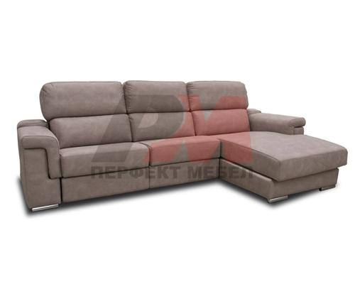 Дизайнерско обзавеждане за ъглови дивани с лежанка