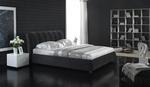 Дизайнерски тапицирани легла с еко кожа или дамаска