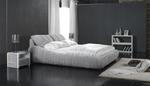 Поръчкова изработка на луксозни тапицирани легла с еко кожа или дамаска