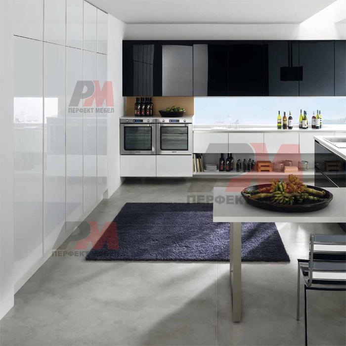 Цялостно обзавеждане за модерна кухня за къща
