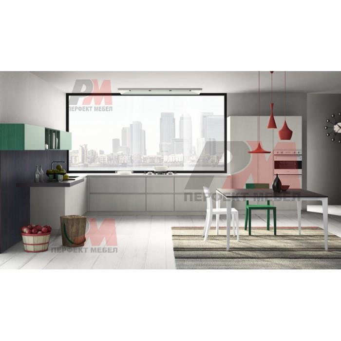 Поръчкова изработка на мебели за модерна кухня по поръчка