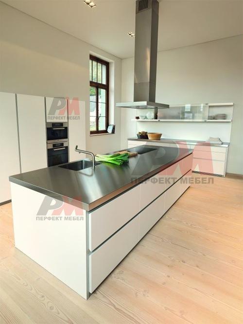 изискани мебели за кухня по поръчка с нестандартни размери