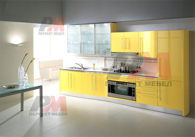 Дизайнерски модерни кухненски мебели цени