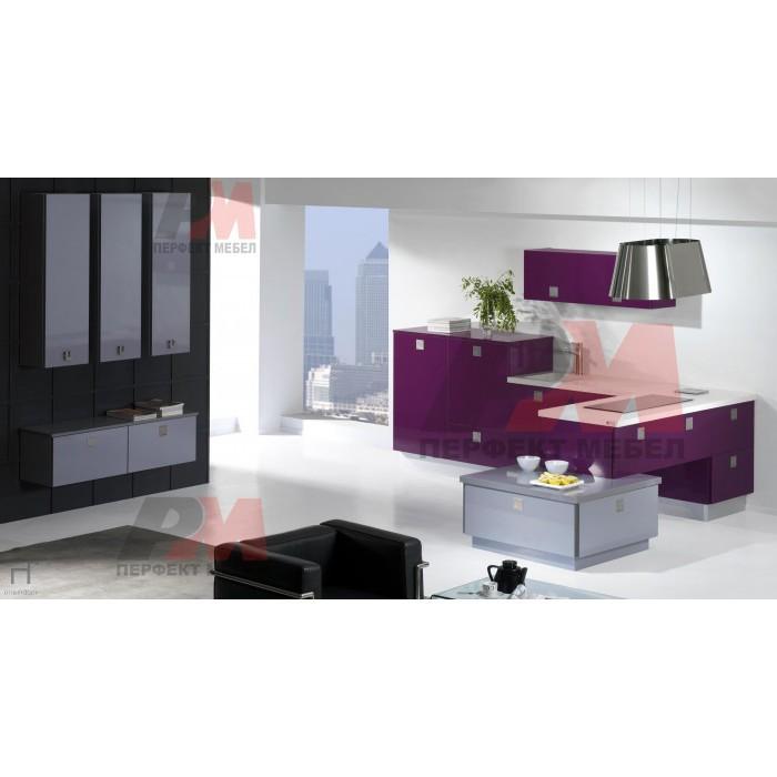 Проектиране и изработка на модерни кухненски мебели цени