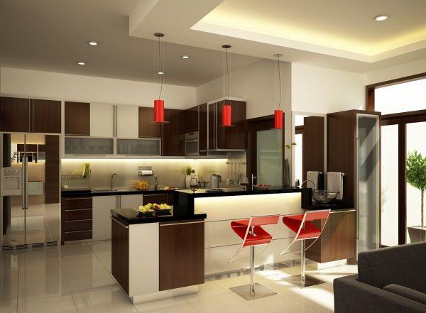Кухня цвят венге
