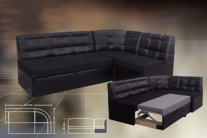 Модерен разтегателен ъглов диван