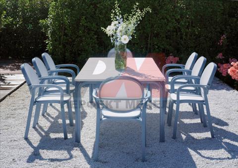 Устойчиви маси за ресторант от алуминий