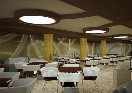 Интериорен дизайн на кафене