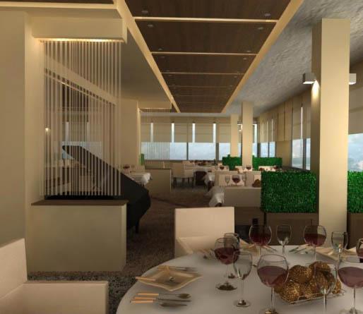 Интериорен дизайн за ресторант