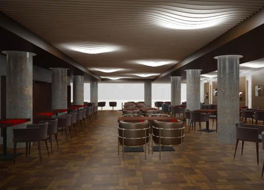 Интериорен дизайн на кафета