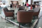 Луксозно хотелско обзавеждане по поръчка за лоби бар